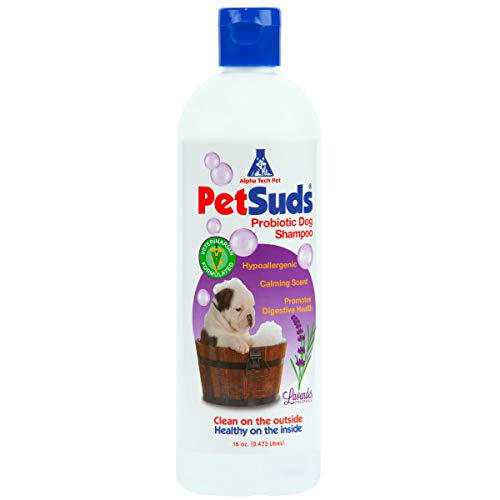 PETSUDS Probiotic Dog Shampoo | Sulfate Free, Hypoallergenic Dog Shampoo Sensitive Skin | Lavender...