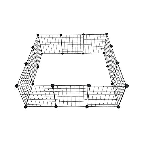 Midlee Guinea Pig Grid Cage Panels- Set of 12