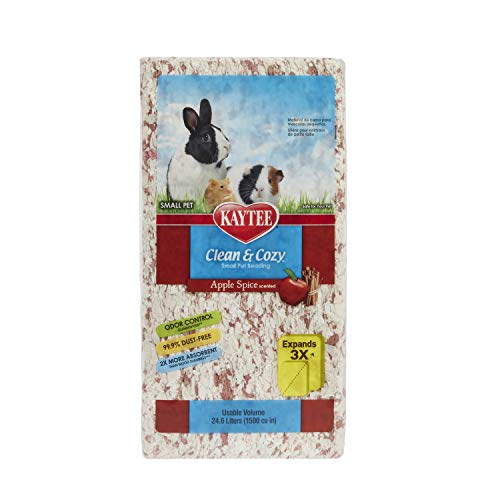 Kaytee Clean & Cozy Apple Spice Pet Bedding, 24.6L