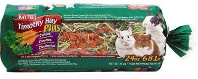 Kaytee Timothy Hay Plus Carrots 24 oz - Pack of 6