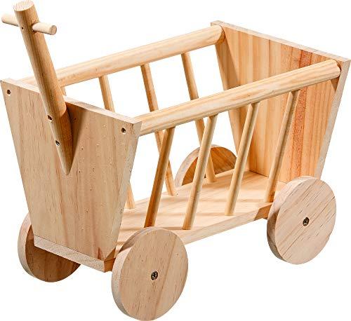 Karlie Wooden Hay Rack Handcart