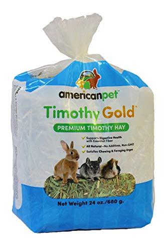 American Pet Diner 140 Timothy Gold Hay, 24 Oz,Blue