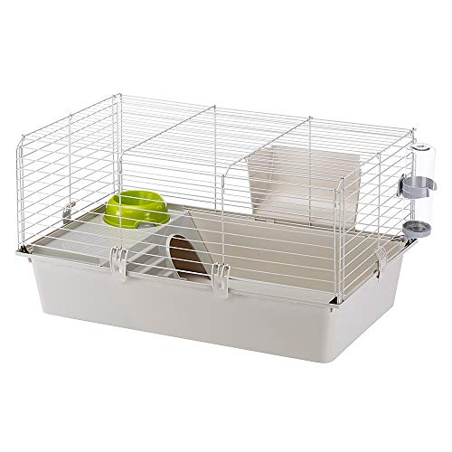 Ferplast Cavie Guinea Pig Cage & Rabbit Cage | Pet Cage Includes All Accessories to Get You Started...