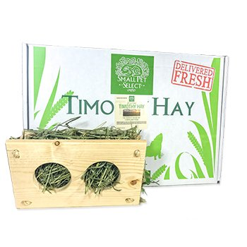 Small Pet Select Second Cutting Timothy and Hand Made Hay Manger