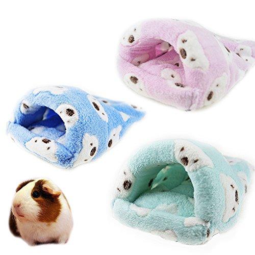 Rat Hamster House Bed Winter Warm Fleece Small Pet Squirrel Hedgehog Chinchilla Rabbit Guinea Pig...