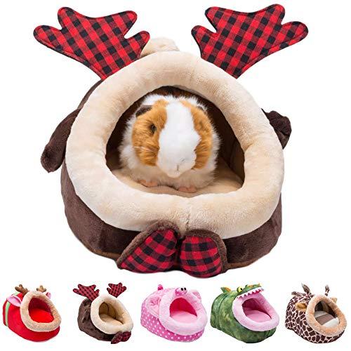 Orangdogo Hamster Guinea Pig Cage Accessorie Rabbit Chinchilla Hedgehog Bird Small Animal Pet Bed...