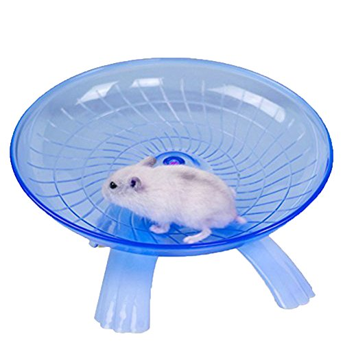 Small Animal Comfort Exercise Wheel for Pet Syrian Hamsters Rat Gerbils Mice Chinchilla Guinea Pig...