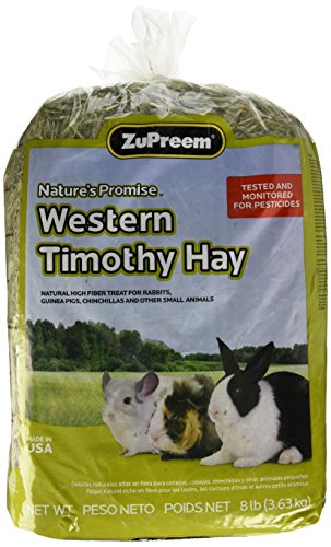 Zupreem 230028 Nature'S Promise Timothy Hay Food, 8-Pound