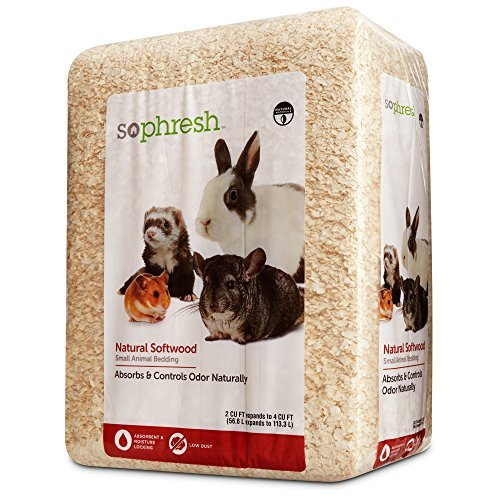 So Phresh Natural Softwood Small Animal Bedding, 2 cu. ft. by So Phresh