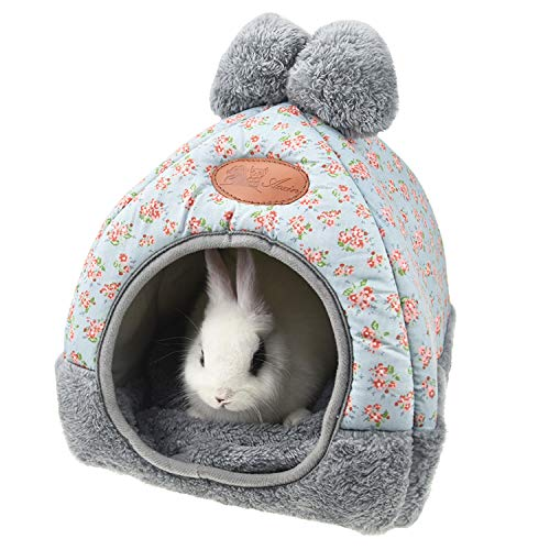 Rabbit Guinea Pig Hamster House Bed Cute Small Animal Pet Winter Warm Squirrel Hedgehog Chinchilla...