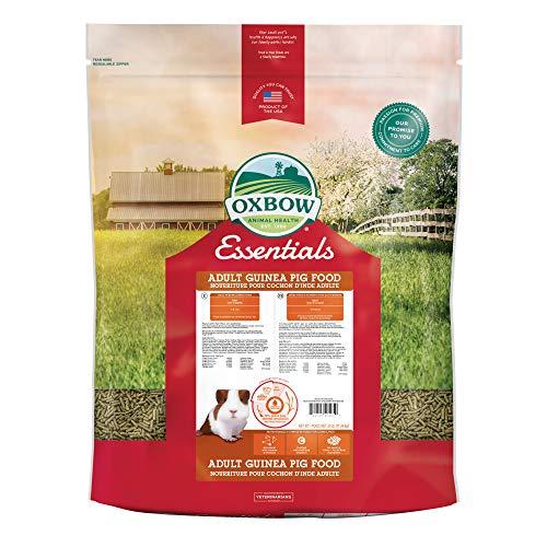 Oxbow Essentials Adult Guinea Pig Food - All Natural Adult Guinea Pig Pellets - 25 lb.