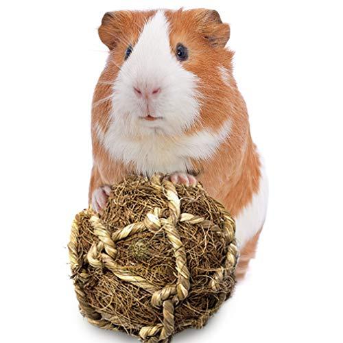 SunGrow Coconut Fiber Balls, Improves Dental Health, Environment Friendly, Stress Reliever, Ideal...